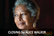 Closing by Alice Walker