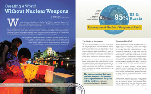 against nuclear weapons essay This essay discusses some of the major advantages and disadvantages of nuclear energy nuclear weapons are a major threat to the world as they can cause a large.