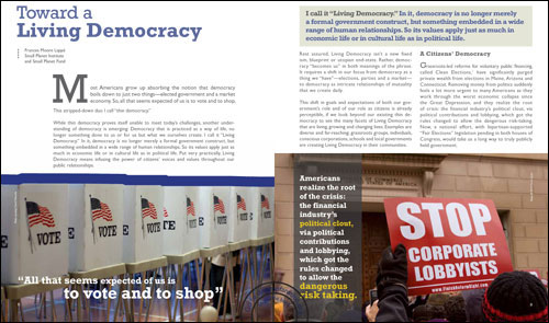 active democracy essays Three students have been honored for writing outstanding essays:  prepares  them as active citizens in a sometimes contentious democracy.