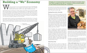 Preview the United for a Fair Economy essay