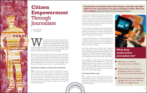 essays on citizen journalism